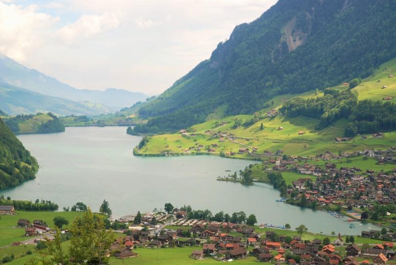Lungerer See or Lake Lungern